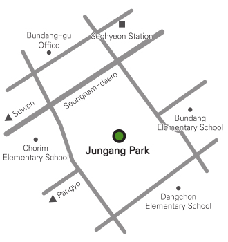 Jungang Park Location